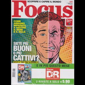 Focus + Focus D&R - n. 329 - marzo 2020 - mensile - 2 riviste