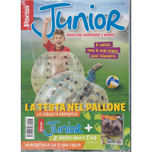 Focus Junior + Focus Wild - n. 194 / 2020 - 2 riviste