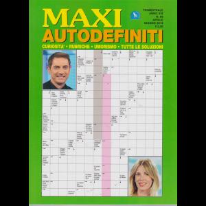 Maxi Autodefiniti - n. 69 - trimestrale - aprile - giugno 2019