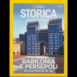 National Geographic - Storica- Babilonia e Persepoli ricostruite in 3D - n. 8 - bimestrale - marzo 2020