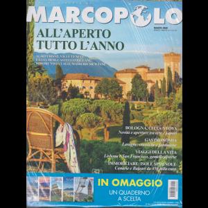 Marco Polo +  in omaggio i quaderni - diari di viaggio - Firenze - n. 2 - marzo 2020 - mensile - 2 riviste