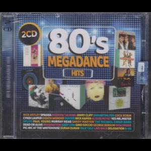 80'S  Megadance hits - rivista + 2 cd - n. 2 - aprile maggio 2020 - bimestrale