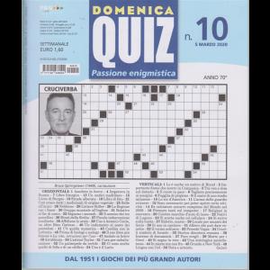 Domenica quiz - n. 10 - 5 marzo 2020 - settimanale -