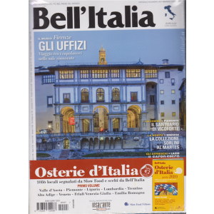 Bell'italia + Bell'Italia Osterie d'Italia guida 2020 - n. 407 - mensile - marzo 2020 - rivista + guida osterie d'Italia