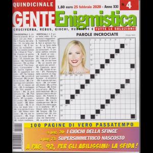 Gente Enigmistica - n. 4 - quindicinale - 25 febbraio 2020 - 100 pagine di vero passatempo