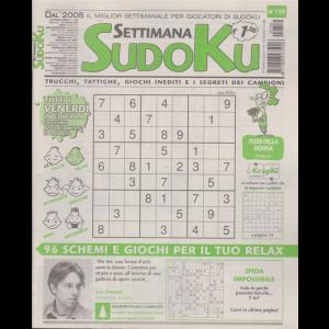 Settimana Sudoku - n. 759 - settimanale - 28 febbraio 2020