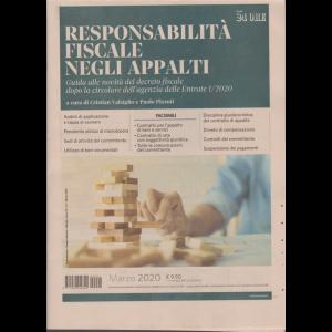 Responsabilità fiscale negli appalti - n. 1 - marzo 2020 - mensile