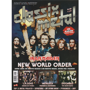 Classix metal - n. 40 - bimestrale - marzo - aprile 2020