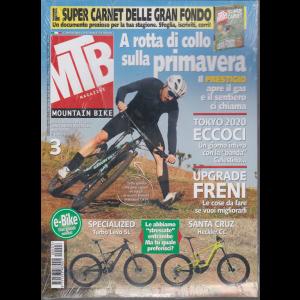 Mtb Magazine - n. 3 - mensile - marzo 2020 + il calendario ufficiale delle gran fondo 2020 - rivista + calendario