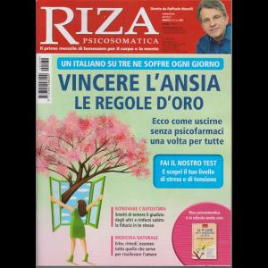 Riza Psicosomatica - Vincere L'ansia - n. 469 - mensile - marzo 2020