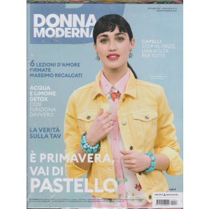 Donna Moderna + Catalogo Garden 2019 - Obi - n. 14 - 20  marzo 2019 - settimanale