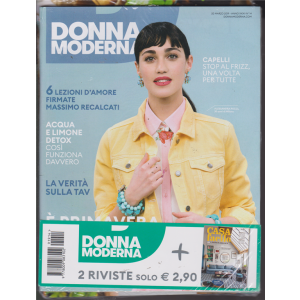 Donna Moderna + Casa vfacile - n.14 - settimanale - 20 marzo 2019-