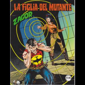 Zagor - La Figlia del mutante - n. 707 - mensile - marzo 2020