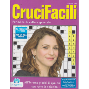 Crucifacili - n. 204 - bimestrale - 29/2/2020 - Isabella Ragonese