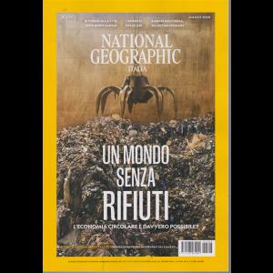 National Geographic - Un mondo senza rifiuti - n. 3 - marzo 2020 - mensile
