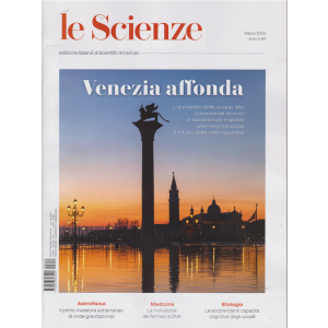 Le Scienze - Venezia affonda - n. 619 - mensile - marzo 2020