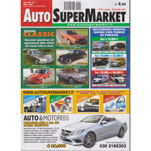 Auto Super Market - n. 3 - marzo 2020