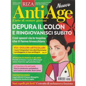 Riza Antiage - n. 23 - marzo 2020 - mensile