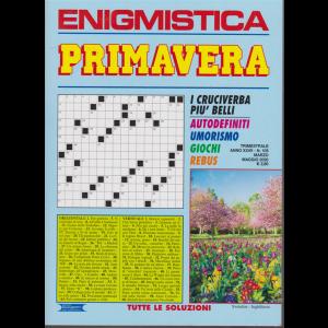 Enigmistica primavera - n. 105 - trimestrale - marzo - maggio 2020 -