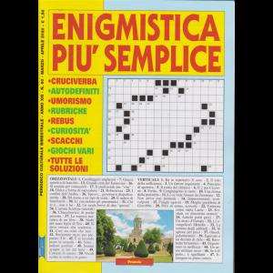 Enigmistica più semplice - n. 60 - marzo - aprile 2020 - bimestrale