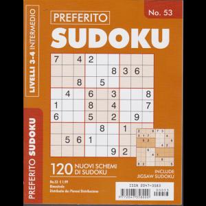 Preferito sudoku - n. 53 - bimestrale - livelli 3-4 intermedio