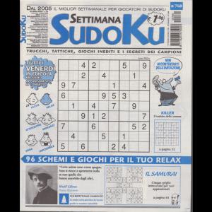 Settimana Sudoku - n. 760 - settimanale - 8 marzo 2020