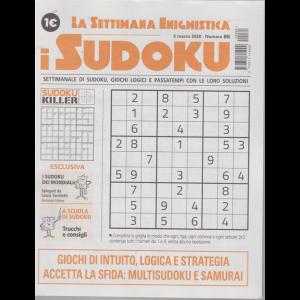 La settimana enigmistica - i sudoku - n. 85 - 5 marzo 2020 - settimanale