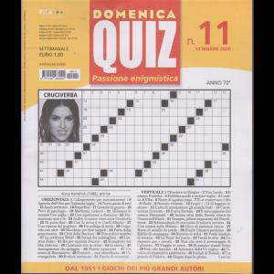 Domenica Quiz - n. 11 - settimanale - 12 marzo 2020