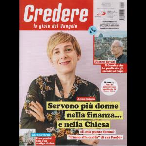 Credere - La Gioia Della Fede - n. 10 - settimanale - 8 marzo 2020