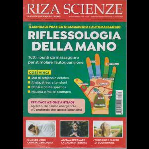 Riza Scienze - Riflessologia della mano - n. 371 - marzo - aprile 2020 - bimestrale