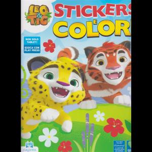 Leo & Tig Stickers e colori - n. 1 - marzo - aprile 2020 - bimestrale -