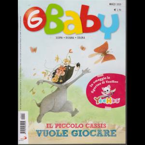 G-Baby - n. 3 - marzo 2020 - mensile + in omaggio le figurine di YooHoo