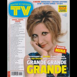 Sorrisi e Canzoni Tv - n. 10 - 10 marzo 2020 - settimanale