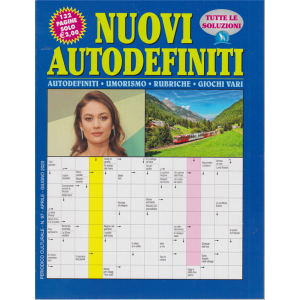 Nuovi Autodefiniti - n. 97 - aprile - giugno 2020 - 132 pagine