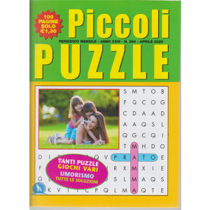 Piccoli Puzzle - n. 269 - aprile 2020 - 100 pagine - mensile