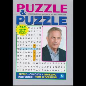 Puzzle & Puzzle - n. 163 - aprile - maggio 2020 - bimestrale - 196 pagine