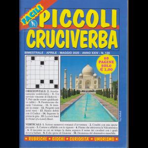 Piccoli Cruciverba - facili - n. 138 - bimestrale - aprile - maggio 2020 - 68 pagine