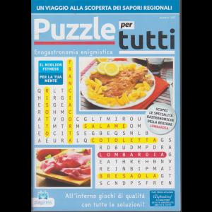 Puzzle per tutti - Enogastronomia enigmistica - n. 107 - bimestrale - 2/3/2020 -