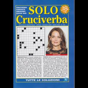 Solo Cruciverba - n. 187 - bimestrale - aprile - maggio 2020 - 100 pagine