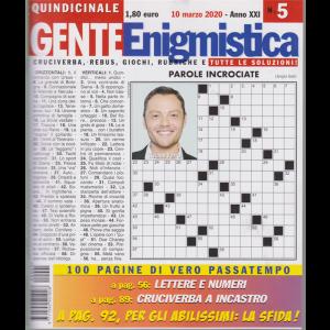Gente Enigmistica - n. 5 - quindicinale - 10 marzo 2020 - 100 pagine di vero passatempo