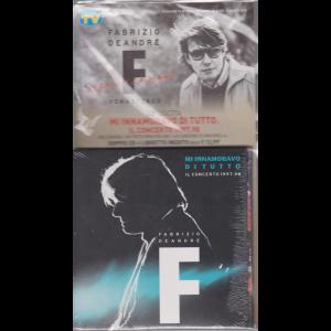 Le raccolte musicali di Sorrisi n. 10 - 10 marzo 2020 - Fabrizio De Andrè - uscita n. 23 - Mi innamoravo di tutto. Il concerto 1997-98  - doppio cd + libretto inedito