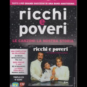 Cd Sorrisi Canzoni  n. 9 - Ricchi e Poveri - Le canzoni la nostra storia - settimanale - 3 cd - 10/3/2020 -
