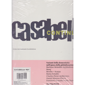 Casabella - n. 907 - marzo 2020 - italian + english