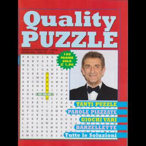 Quality Puzzle - n. 50 - trimestrale - aprile - giugno 2020 - 100 pagine