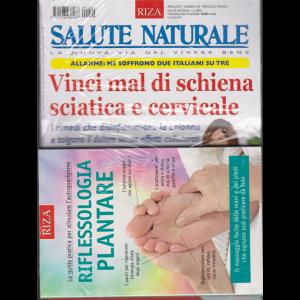 Salute Naturale - n. 240 -. aprile 2019 - mensile + il libro Riflessologia plantare - rivista + libro