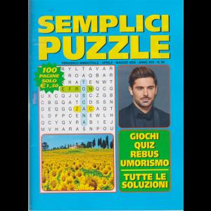 Semplici Puzzle - n. 96- bimestrale - aprile - maggio 2020 -  100 pagine