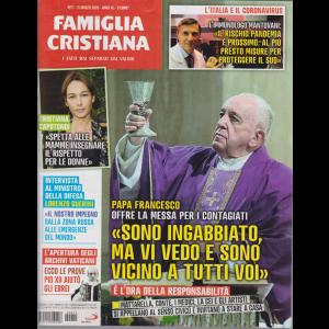 Famiglia Cristiana - n. 11 - 15 marzo 2020 - settimanale