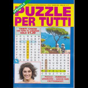 Speciale Puzzle per tutti - n. 97 - bimestrale - aprile - maggio 2020 -