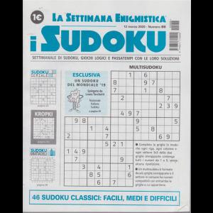 La settimana enigmistica - i sudoku - n. 86 - 12 marzo 2020 - settimanale