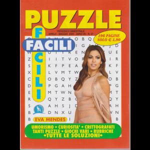 Puzzle Facili Facili - n. 37 - bimestrale - aprile - maggio 2020 - 196 pagine - Eva Mendes